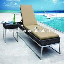 Double sun lounger waterproof sun lounger cushion