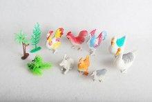 wild animal set toys/plastic animal set toys/animal set