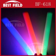 4.5*40cm multi color changing led foam stick
