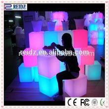 RGB LED furniture fruit plate, tray LED fruit bowl trays decorative fruit plates