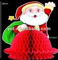 Moda de papel da decoração de natal- papai noel papel de homem