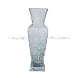 Exquisite handmade colored glass vase