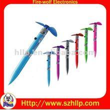 fan pen, promotion pen with fan ,China Multi-Functional Pen manufacturer & supplier