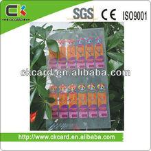 full color printing transparent pvc sheet