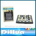 Maravilla de la diversión los niños mini-magnético juego de ajedrez