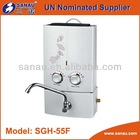 New designed portable gas water heater (5~6L)