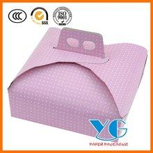 """Cake Box 9"""" Card - Polka Dot"""