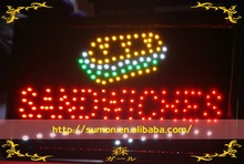 SANDWICHES Sign/ Led sign for advertising of outdoor&indoor