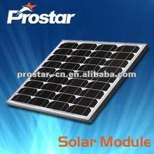 high quality 130w 12v mono solar panel