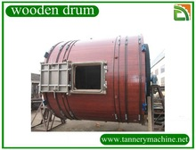 D4.5x4.5/4.5x4.2/4.5x4/4.2x4.2/4.2x4/4x4/4x3.5 soaking or liming wooden drum for cow cattle buffalo leather wooden drum