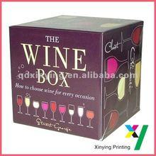 Ecofriendly Carton Box For Wine
