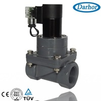 UPVC chemical solenoid valve for Nitroglycerine