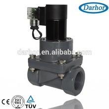 UPVC chemical solenoid valve for Nitroglycerine