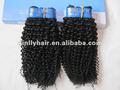 100 menschliche haar flechten marken jerry curl stil