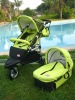 3 in 1 Baby stroller with big wheel and carrycot and carseat