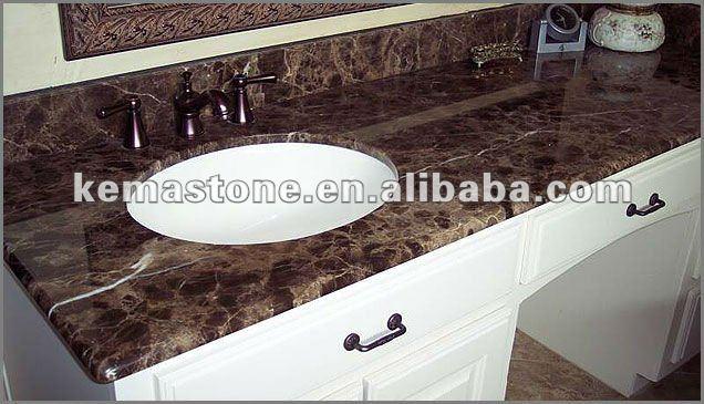 Cheapest Place To Buy Granite : Prefab Emperador Dark Cheap Bathroom Vanity Tops - Buy Cheap Bathroom ...
