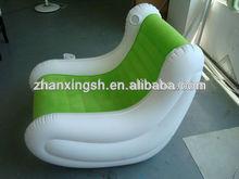 2012 hot sales PVC+flock music inflatable sofa
