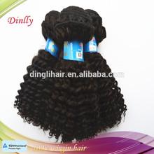 Hot sale deep kinky curl virgin brazilian remy hair for black woman