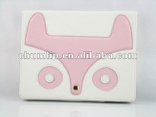 China Factory wholesale puppy design Leather cover for ipad 3