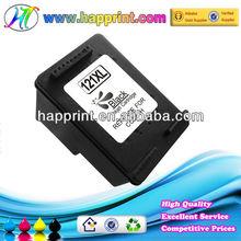 Black ink cartridge for HP 121 CC640H refill ink cartridge