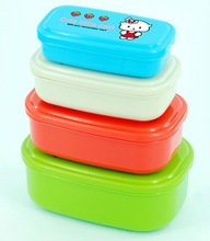 Simple Lunch Box for School Children in Many Sizes and Many Colors