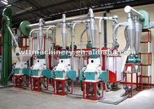 50 T/D low fat corn flour processing complete set equipment