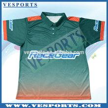 Sublimated Motorcycle Pit Crew Shirts Custom Racing Shirts