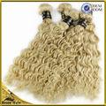 ¡¡¡Éxito en ventas!!! Hermosas extensiones de pelo rizado en color rubio brasilero