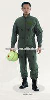 Army green Nomex iiia pilot coveralls