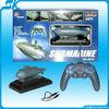 !hot selling 6 CH RC Submarine,Mini Radio Control Boat rc submarine zenoah rc boat
