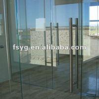 Office Double Glass Swing Door YGS018