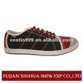 2014 novo modelo personalizado convas conversão sapatos para homens