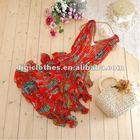 America Modern Red Summer Frills Skirt 2013