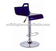 2012 new design clear colorful acrylic bar stool XH-177