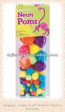 Best price acrylic pompons,pompoms