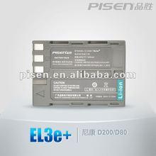 PISEN D90 D80 D700 D200 D300 D300S EL3e+ EL3E EL3 camera battery
