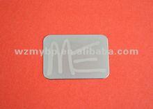 Ultrathin Nickel Nameplate,electroforming stickers