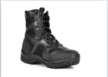 military high cut PU boot army boots for sale