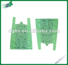2013 best selling hdpe plastic t-shirt bag
