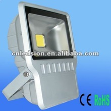 8000lm High power 90-277V COB 100w led flood light
