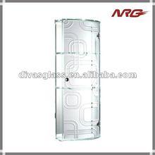 Glass cabinet door living room
