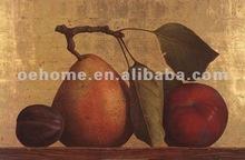 Handmade high quality canvas fruit painting, canvas art, modern art