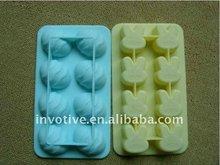 8cups Fashion Design Silicone Ice Cube Trays