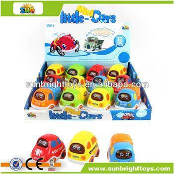 Mini cartoon car friction car