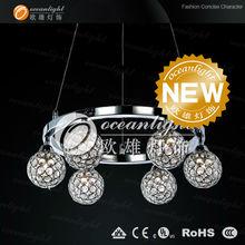 2012 new design chandelier,crystal chandelier light OM88008-6DA