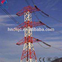 230KV Power Transmission Line Steel Lattice Tower