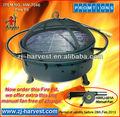 Al aire libre pozo de fuego de la chimenea y la promoción en ( manual de ventilador )