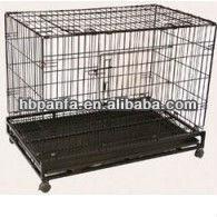 Stainless Steel Dog Kennel /galvanized steel cage/kennel for dogs/galvanized, chromeplate, Stainless steel dog cage