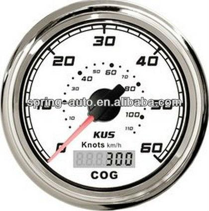 85mm GPS speedometer 60L for vehicle marine
