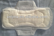 Super soft girls sanitary pad, customer brand pads